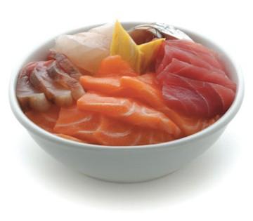Chirashi salmone o tonno