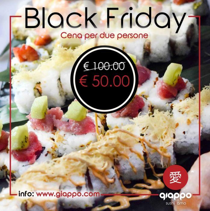 Black Friday Menu